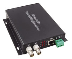 2 Channel Fiber Optic Video Transmitters
