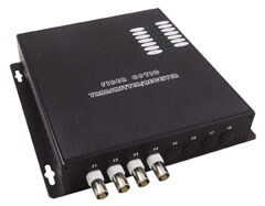 4 Channel Fiber Optic Video Receivers