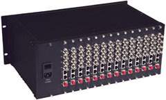64 Channel Fiber Optic Video Transceivers